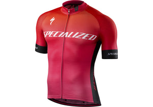 Specialized SL Pro Jersey Mens Short Sleeve Team Acid Fade Woolys Wheels