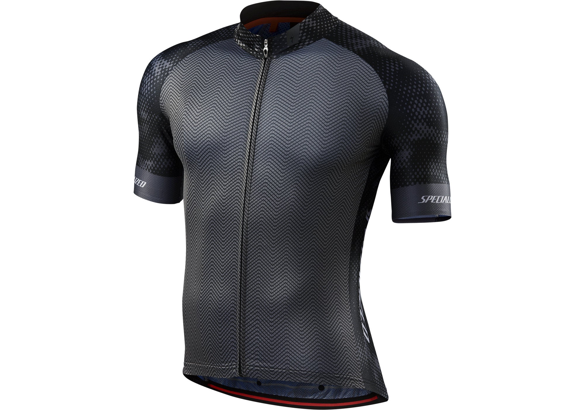Specialized SL Pro Jersey Mens Short Sleeve RF Matrix/Black Woolys Wheels