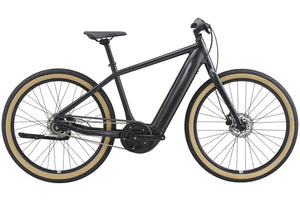 2021 Giant Momentum Transend E+ Electric Bike, Black buy online at Woolys Wheels Sydney