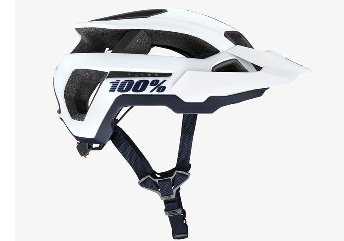 100% Altec MTB Trail Helmet, White, Woolys Wheels Sydney Free Delivery