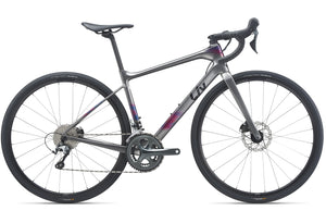 2021 Giant Liv Avail Advanced 3, Womens Road Bike, Charcoal, Woolys Wheels Sydney