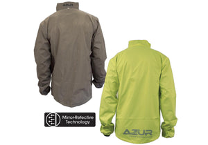 Azur Transverse Reflective Jacket Rear