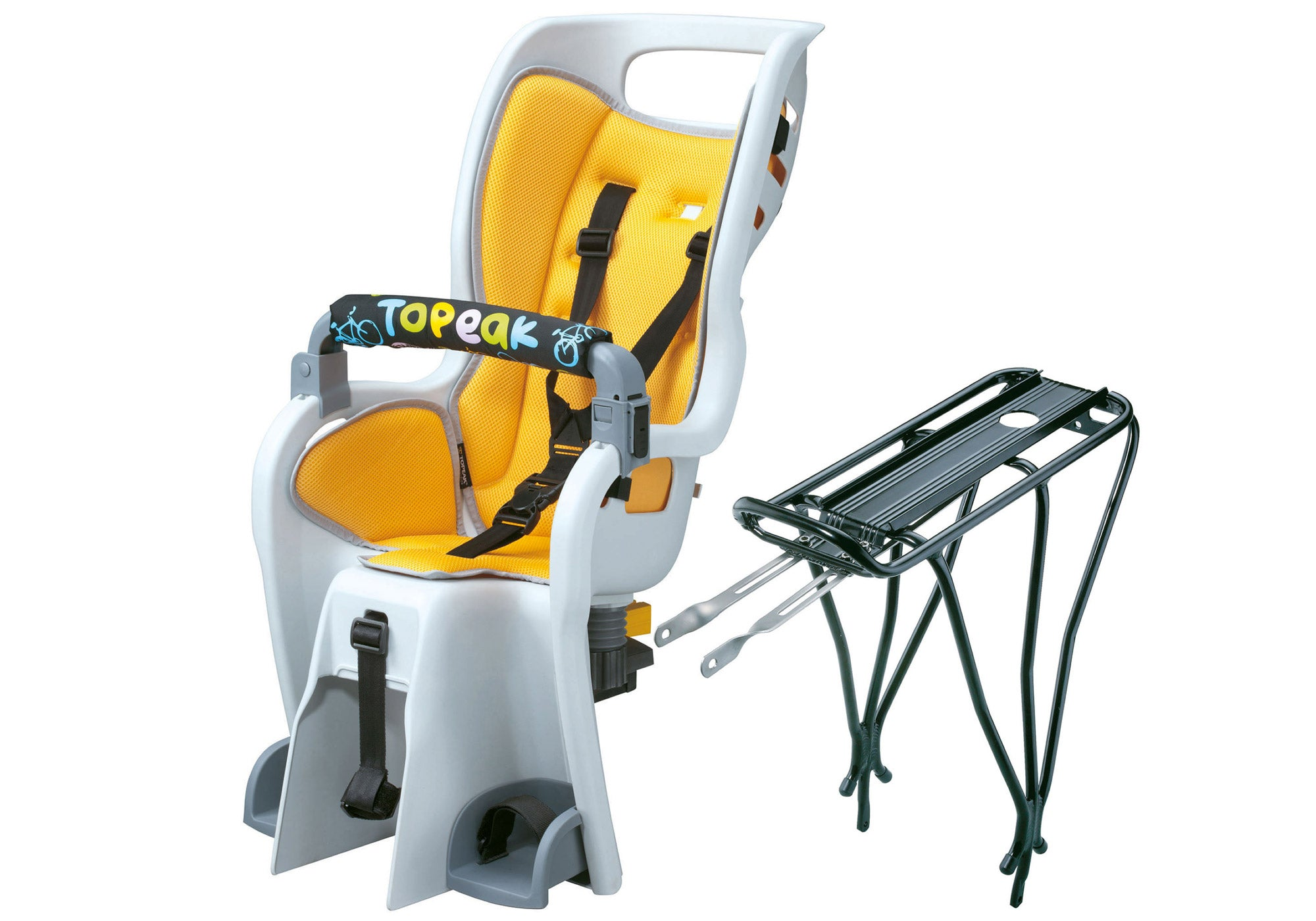 Topeak Babyseat 2 With Rack To Suit Disc/Non Disc Bikes