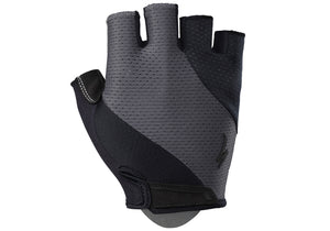 Specialized Mens Body Geometry Short Finger Gel Glove Black/Carbon Grey