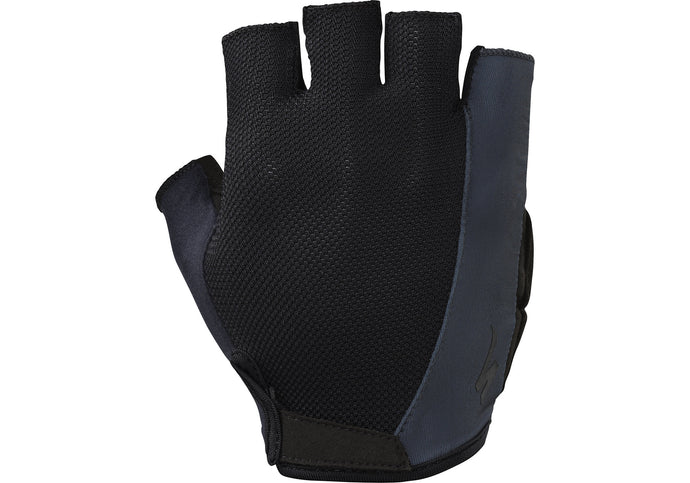 Specialized Body Geometry Sport Glove Short Finger Mens Black/Carbon Grey Woolys Wheels