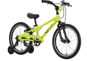 BYK E350 Boys Bike, 4-6 Years, Neon Yellow/Black, Woolys Wheels Sydney