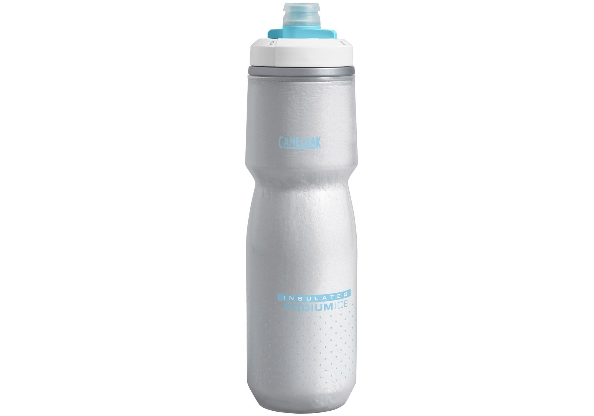 CamelBak Podium Ice Insulated Bottle 600ml, Lake Blue Woolys Wheels Sydney