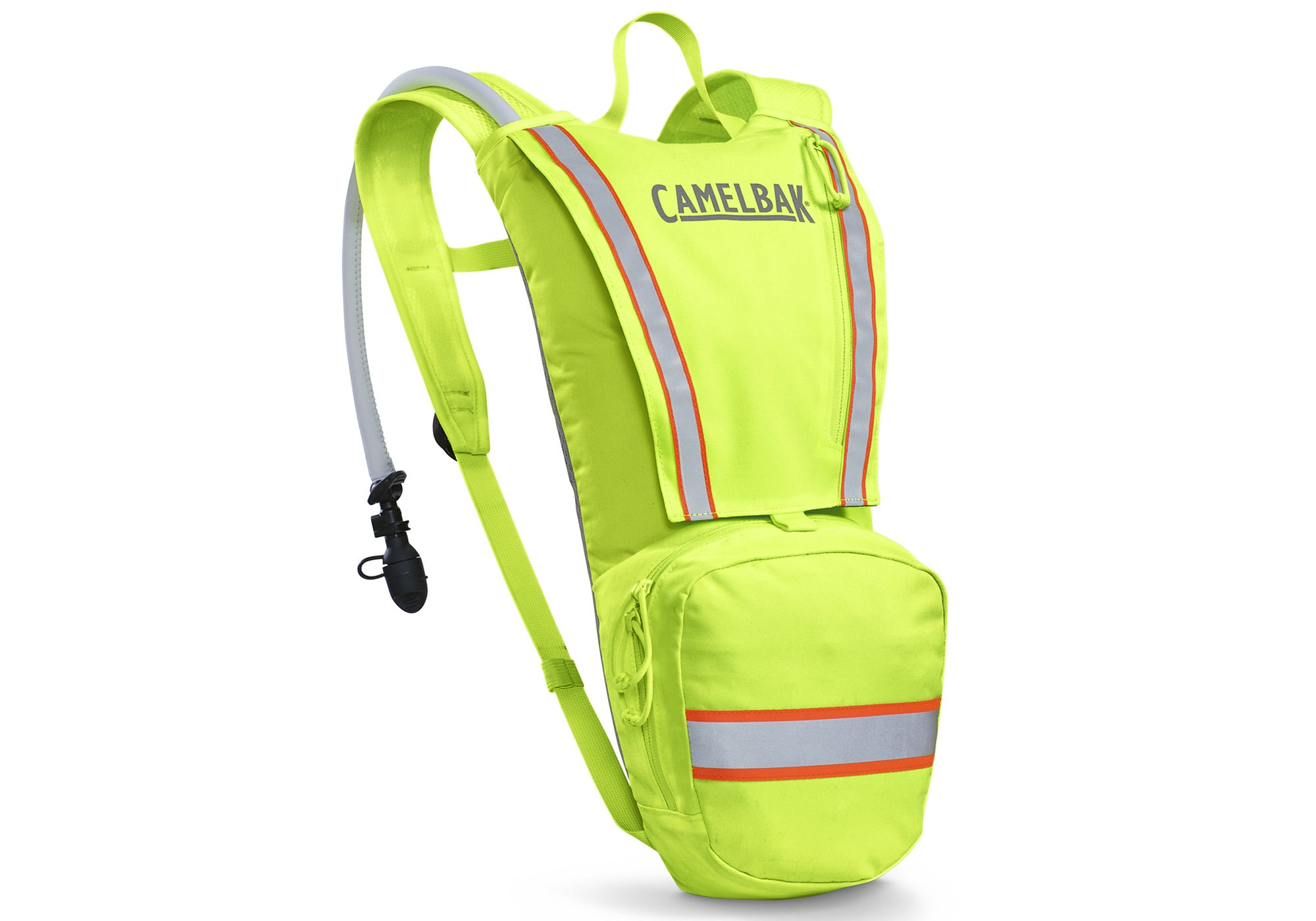 Camelbak Ambush 3.0 Litre Hydration Backpack, Hi-Viz Lime Woolys Wheels Sydney
