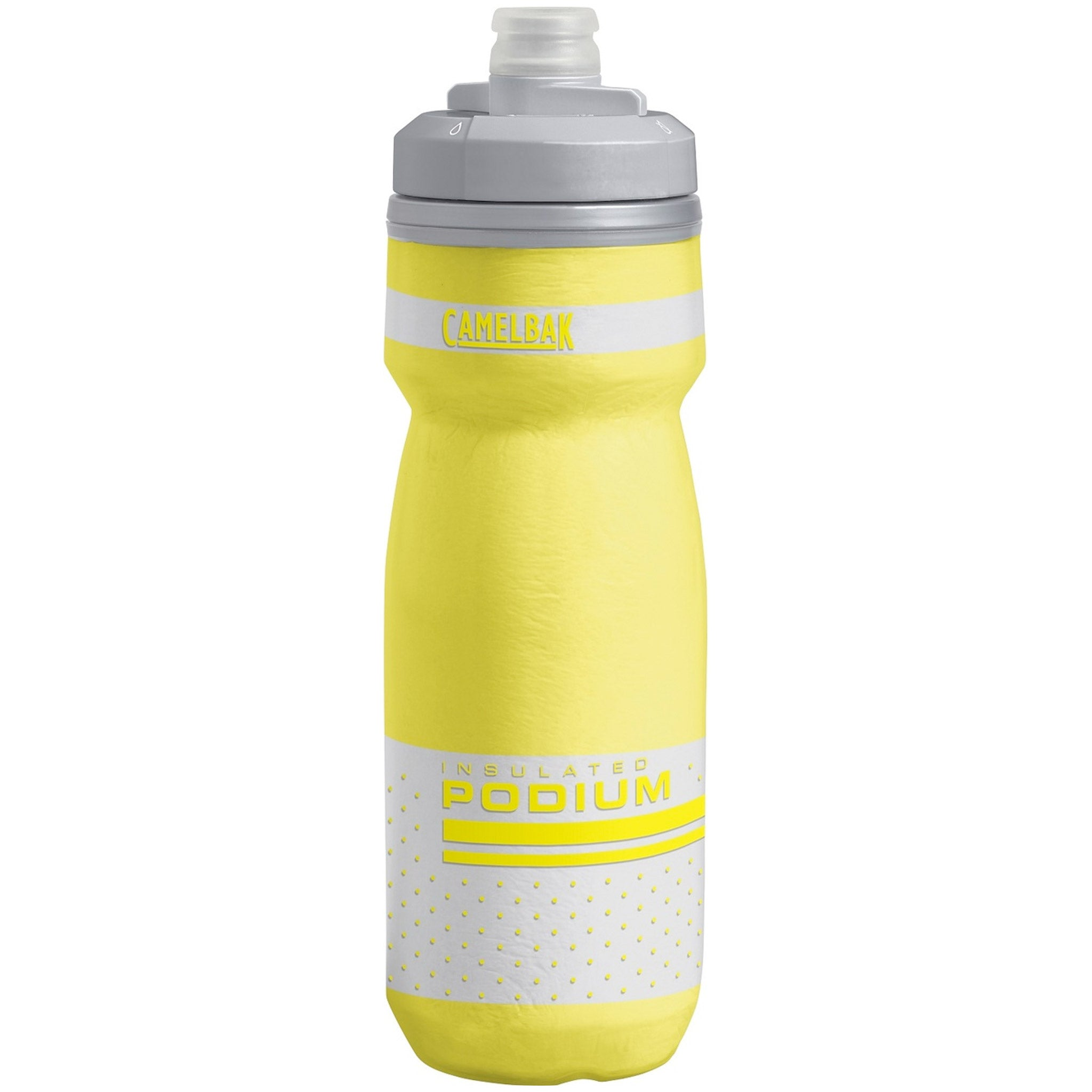 Camelbak Podium Chill Bottle 600ml, Reflective Yellow, buy now at Woolys Wheels Sydney