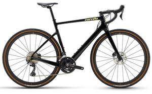 2021 Cervelo Aspero GRX , RX810, Mens Adventure Road Bike, Black/Gold, Woolys Wheels Sydney