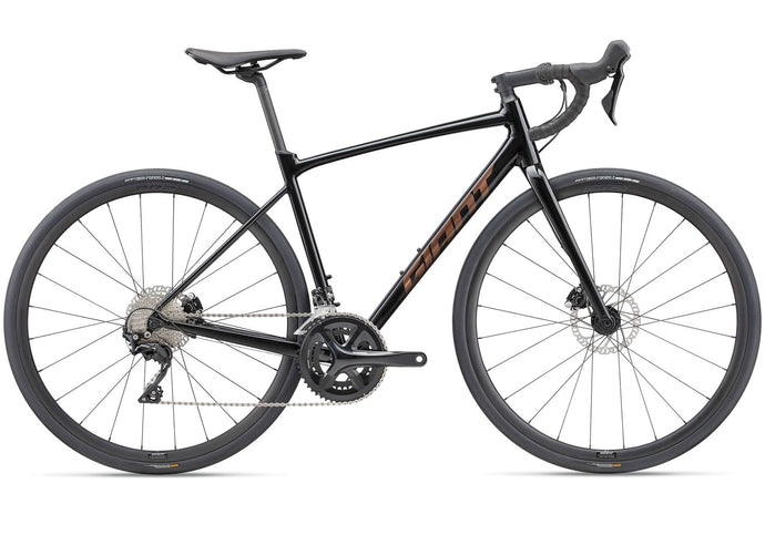 2021 Giant Contend AR 1, Mens Road Bike, Metallic Navy, Woolys Wheels Sydney