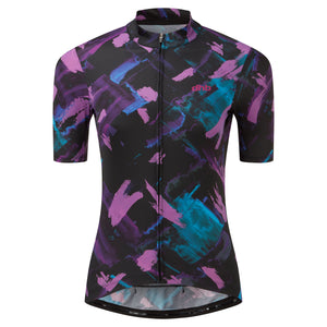 DHB Women's Moda Short Sleeve Jersey SHOUDOU - Black/Pink buy online at Woolys Wheels Sydney
