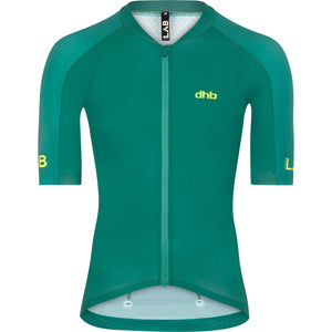 DHB Mens Aeron Lab Raceline Short Sleeve Jersey 3.0 - Green buy online at Woolys Wheels Sydney with free delivery