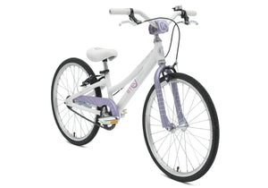 BYK E450 Girls White/Lilac Haze Woolys Wheels Sydney