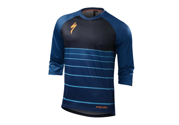 Specialized Enduro Comp 3/4 Jersey Mens Cobra Blue