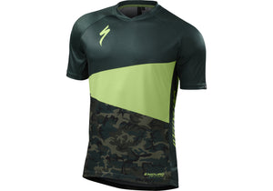 Specialized Enduro Comp Mens Short Sleeve Jersey Monster Green Camo ... ce4b8757e