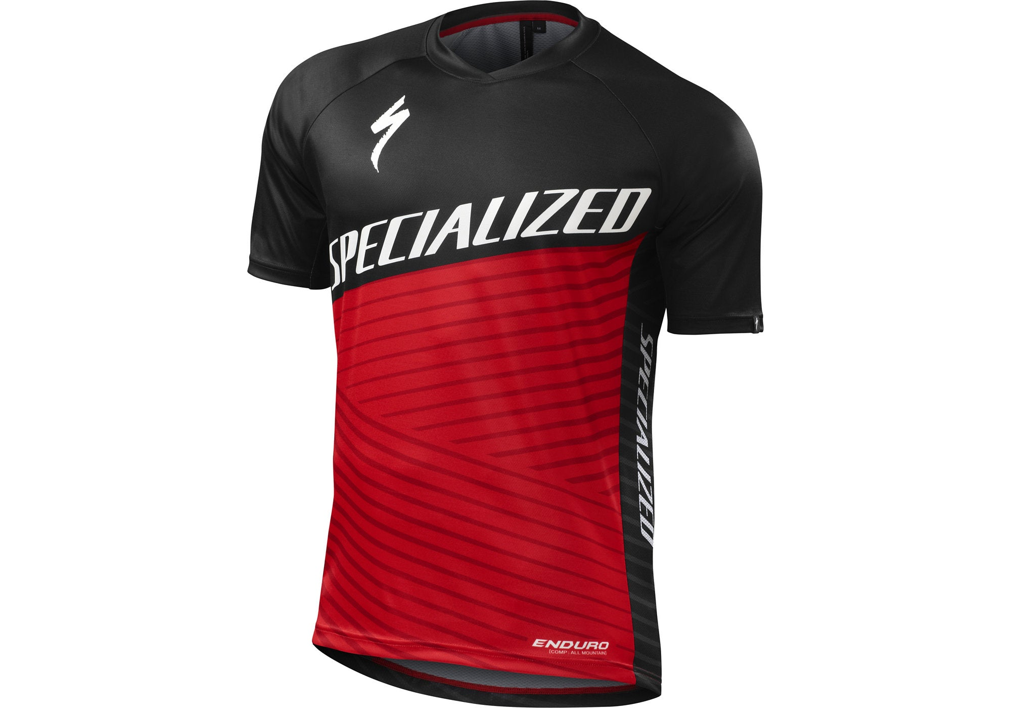 Specialized Enduro Comp Mens Jersey Short Sleeve Red