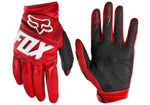Fox Dirtpaw Mens MTB Gloves, Red Woolys Wheels Sydney