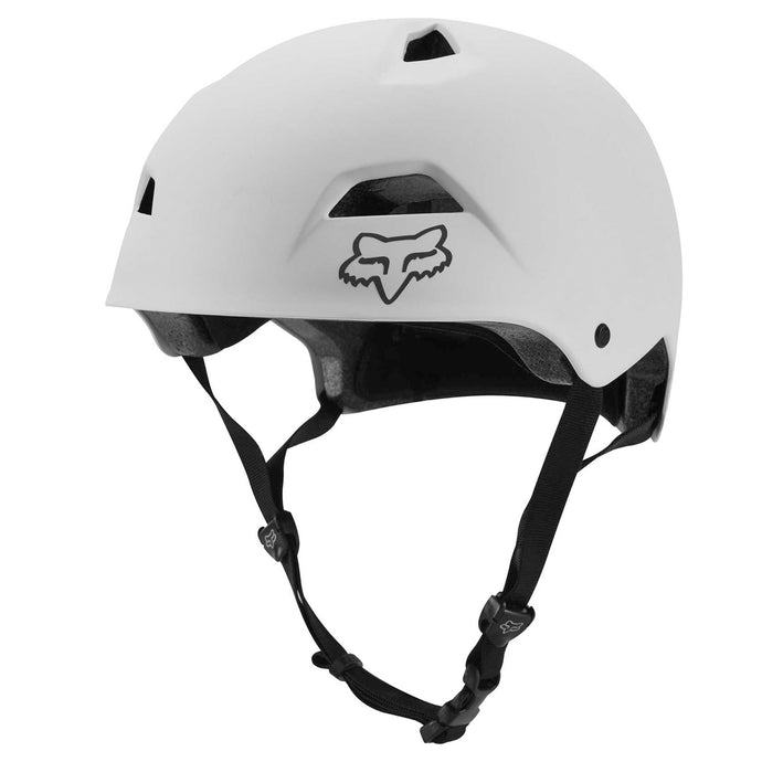 Fox Flight Sport MTB Helmet, White buy at Woolys Wheels Sydney