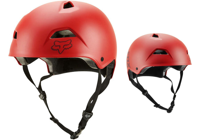 Fox Flight Sport MTB Helmet, Bright Red Woolys Wheels Sydney