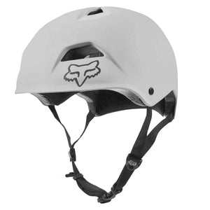 Fox Flight MTB/Skate Helmet, White buy online at Woolys Wheels with free delivery