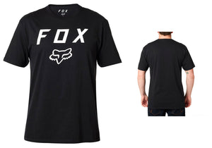Fox Legacy Moth T-Shirt, Black buy online at Woolys Wheels