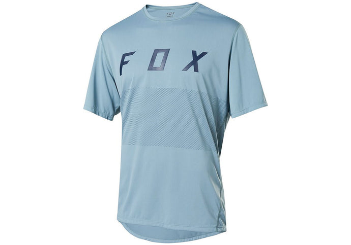 FOX Ranger Fox Mens MTB Jersey, Light Blue, Woolys Wheels Sydney