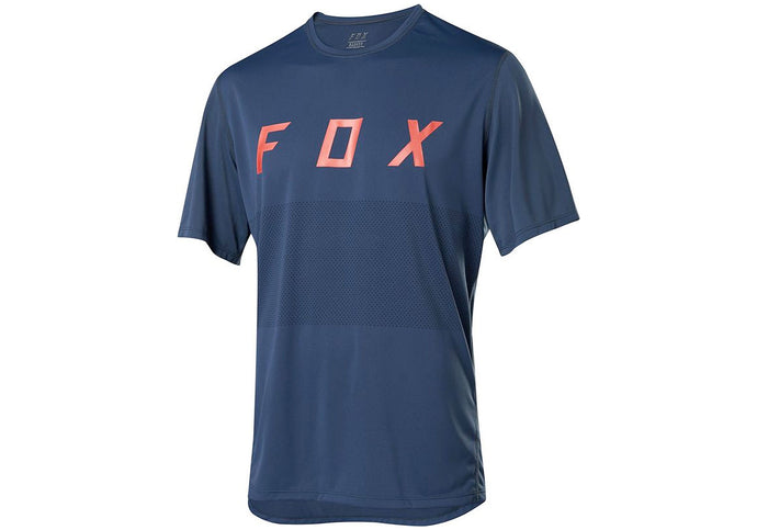 FOX Ranger Fox Mens MTB Jersey, Navy, Woolys Wheels Sydney