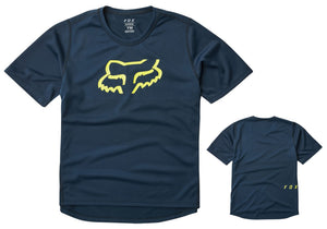 Fox Ranger Youth Dri-Release Jersey, Navy buy online at Woolys Wheels Sydney
