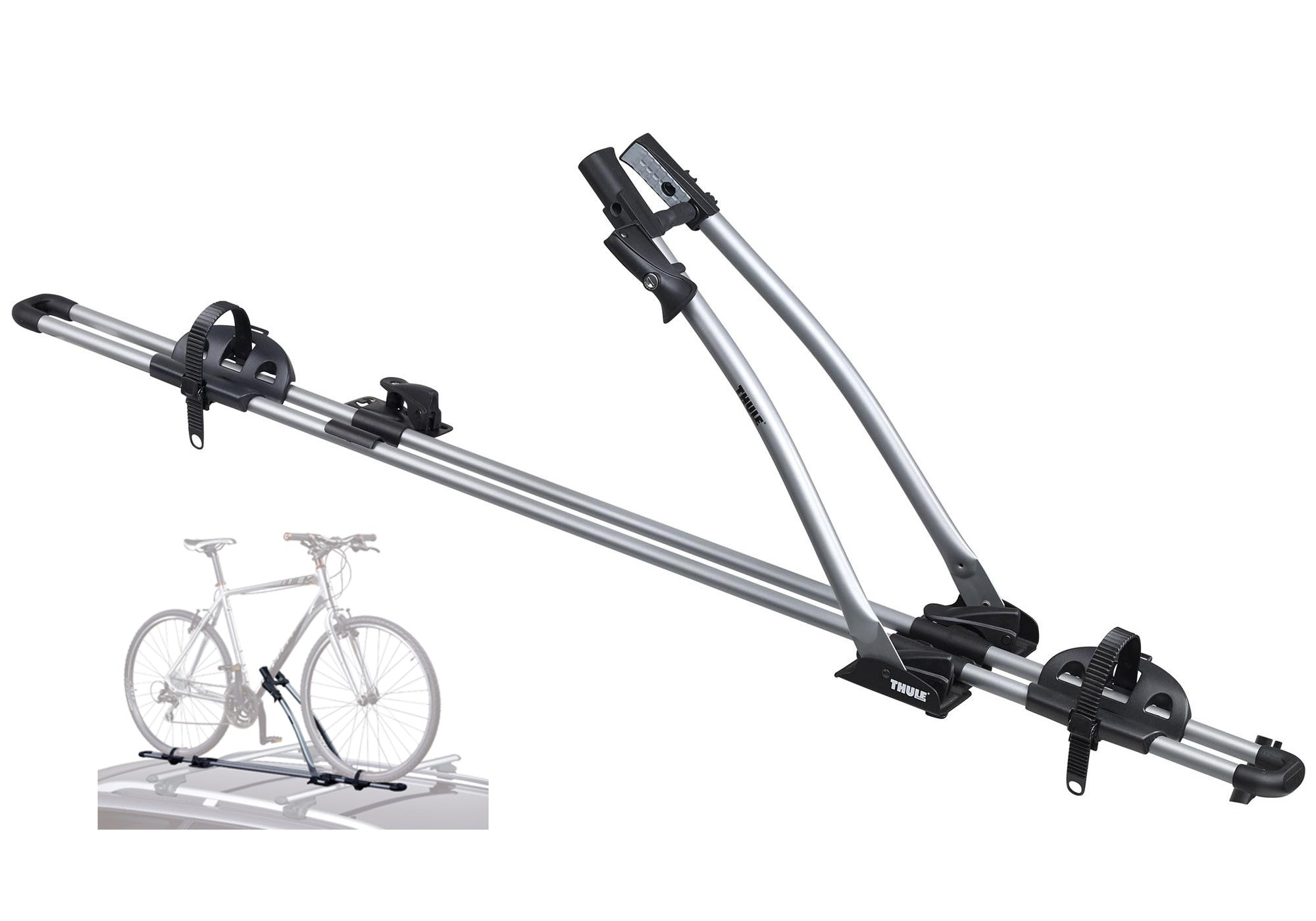 Thule FreeRide 532 Roof Mounted Single Bike Carrier Eastern Suburbs Sydney Woolys Wheels