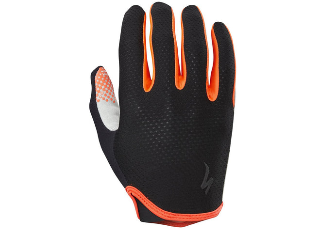 c9a9f768beb Specialized Grail Gloves Long Finger Mens Black Rocket Red Woolys Wheels
