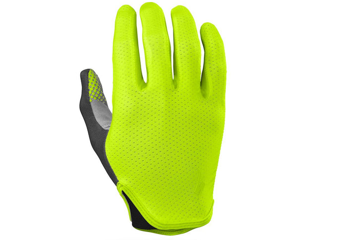Specialized Grail Glove Long Finger Mens Neon Yellow Woolys Wheels