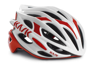 Kask Mojito Road Helmet White/Red Woolys Wheels Sydney