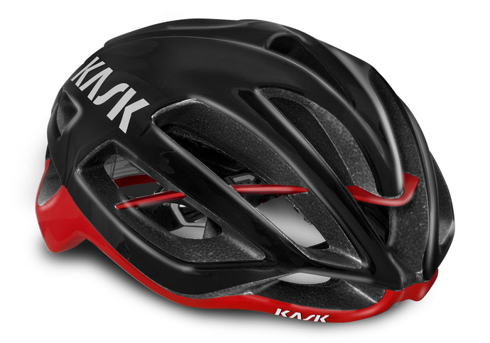 Kask Protone Black/Red Road Helmet Woolys Wheels Sydney
