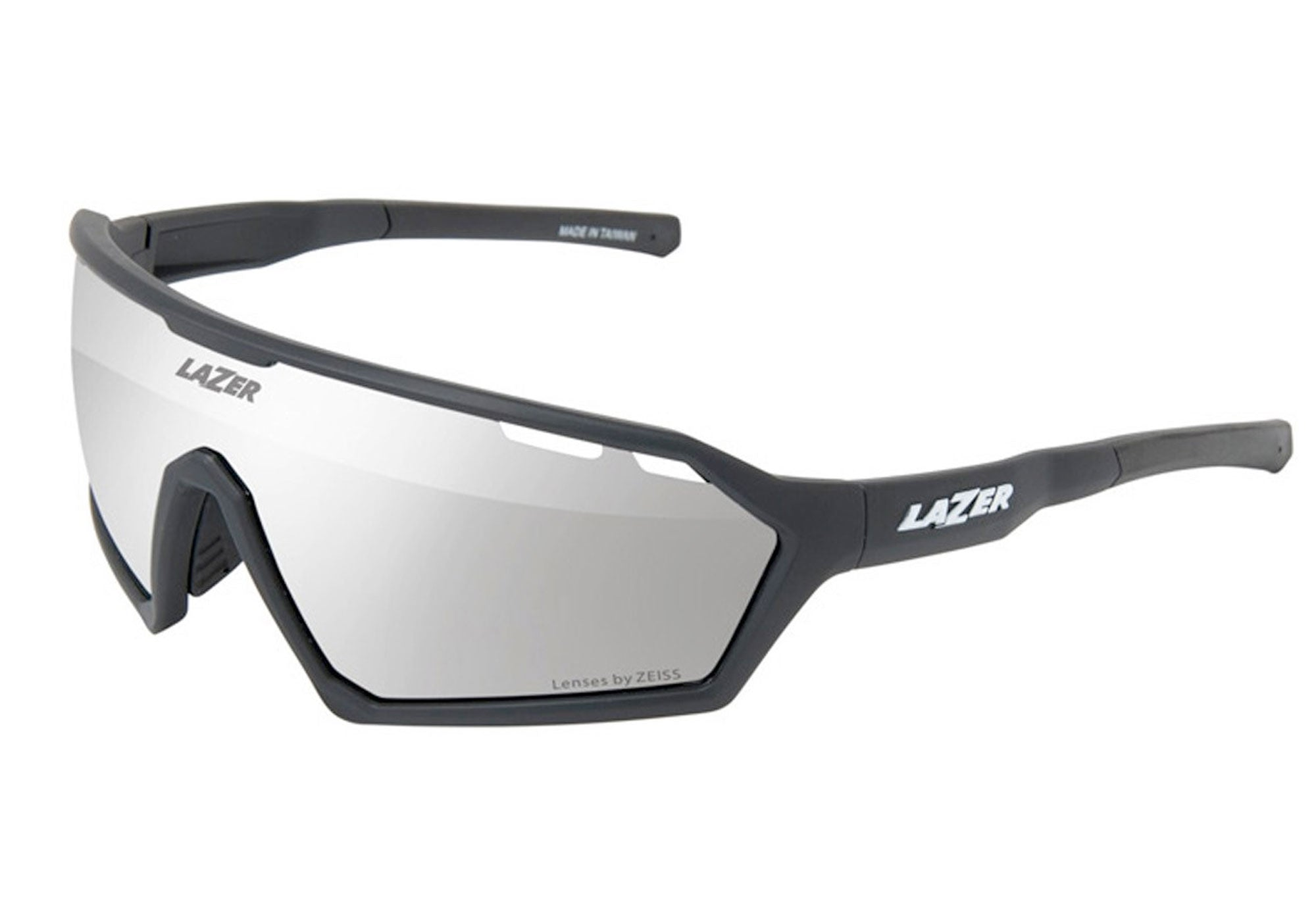 Lazer Walter Sunglasses, Matt Black, Large, Woolys Wheels Sydney