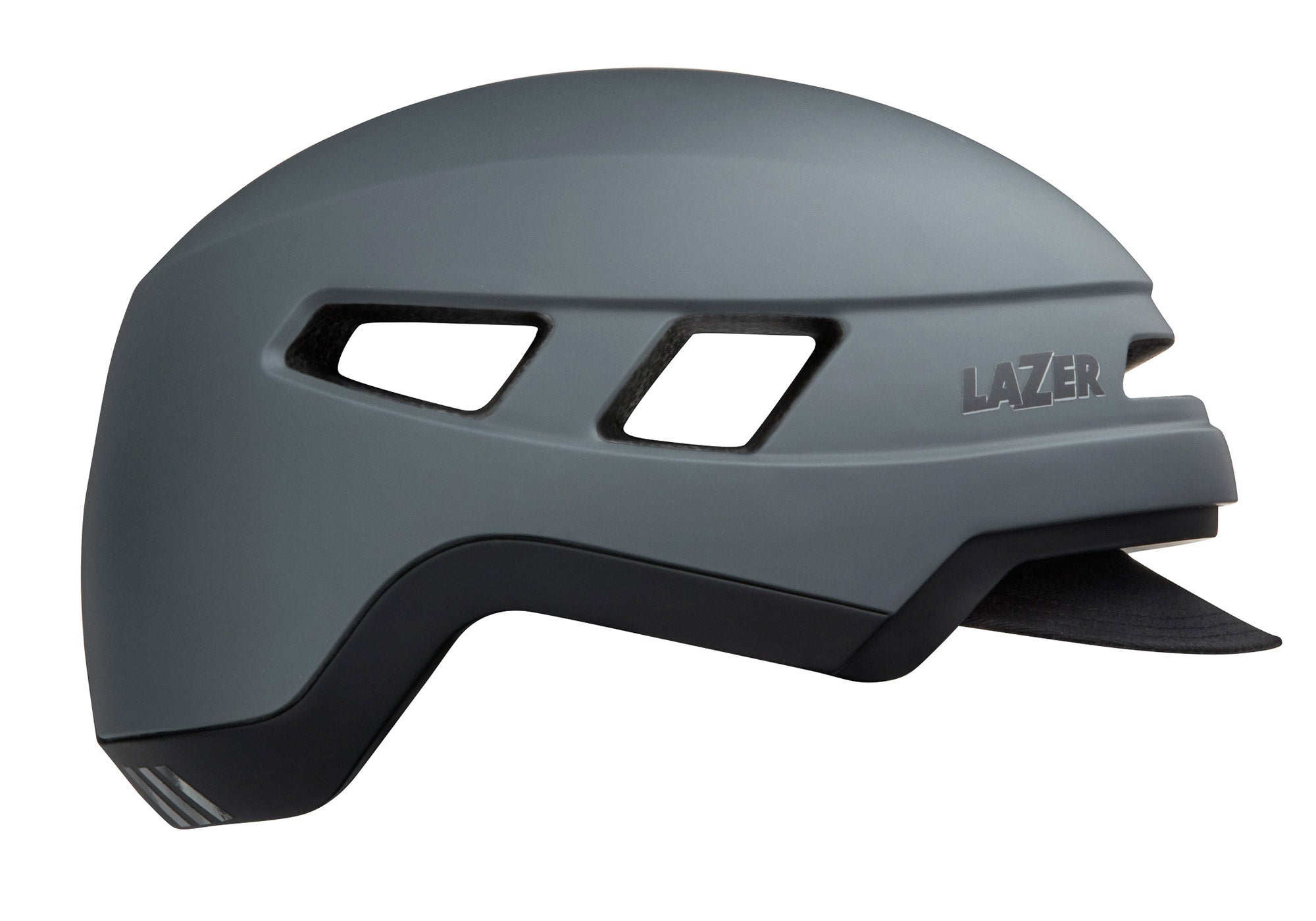 Lazer Cruizer Urban Cycling Helmet, Dark Grey, Woolys Wheels Sydney