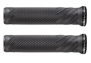 Lizard Skins MacAskill Lock-On Grips, Jet Black Woolys Wheels Sydney