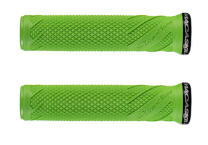 Lizard Skins MacAskill Lock-On Grips, Green Woolys Wheels Sydney
