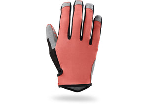 Specialized LoDown Gloves Womens Neon Coral - Small Only