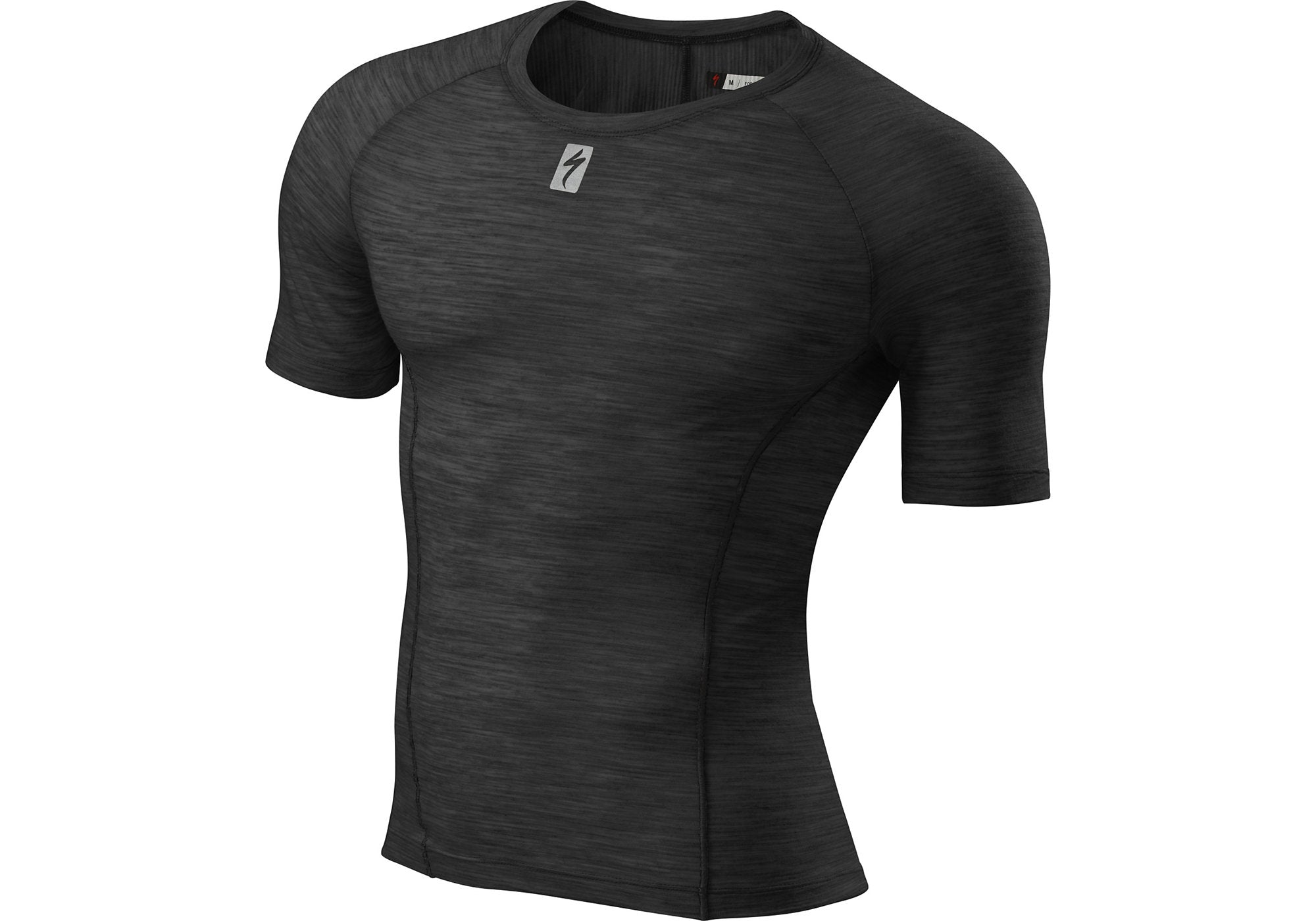 Specialized Mens Merino Layer Short Sleeve, Black