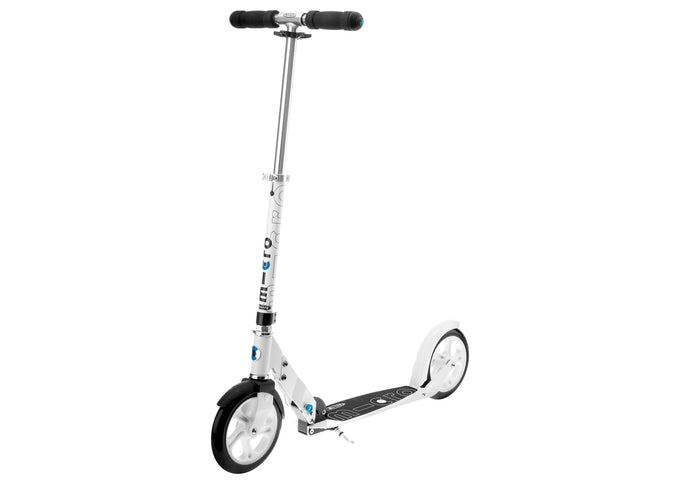 Micro Scooter White Woolys Wheels Sydney