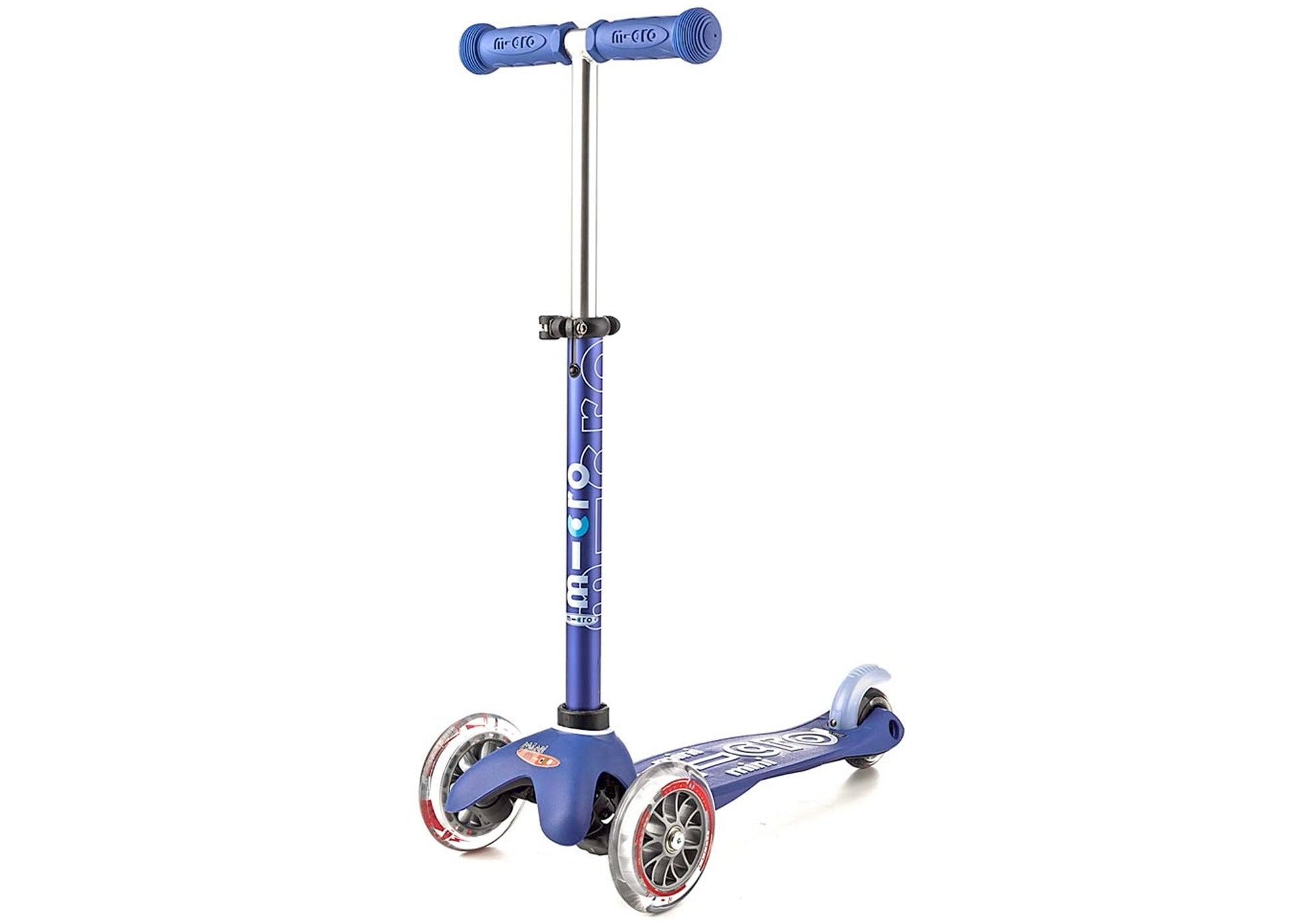 Micro Mini Deluxe Scooter, Blue Woolys Wheels Sydney