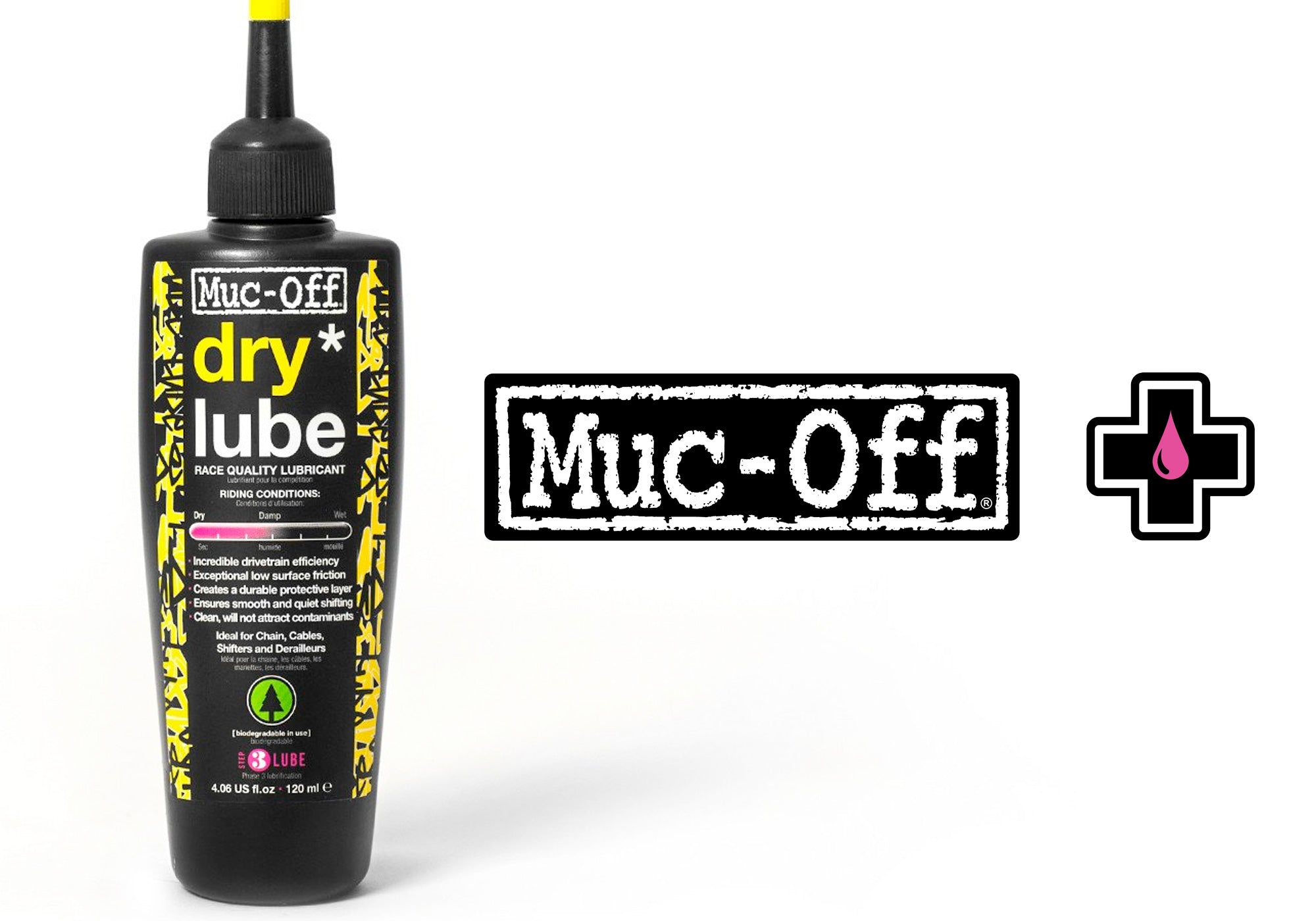 Muc-off Dry Lube 120ml Woolys Wheels Sydney East