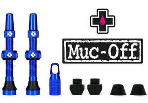 Muc-Off Tubeless Valve Kit 44mm, Blue