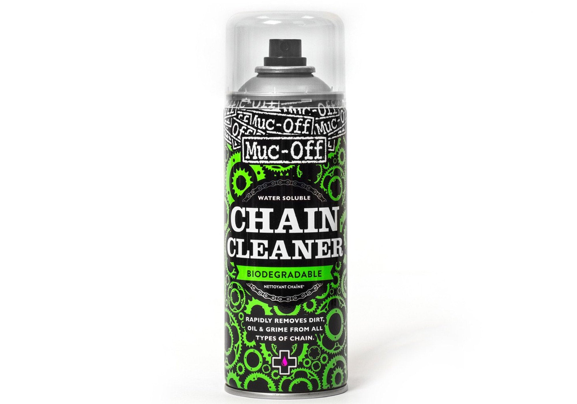 Muc-Off Chain Cleaner Aerosol 500ml Woolys Wheels Sydney Paddington