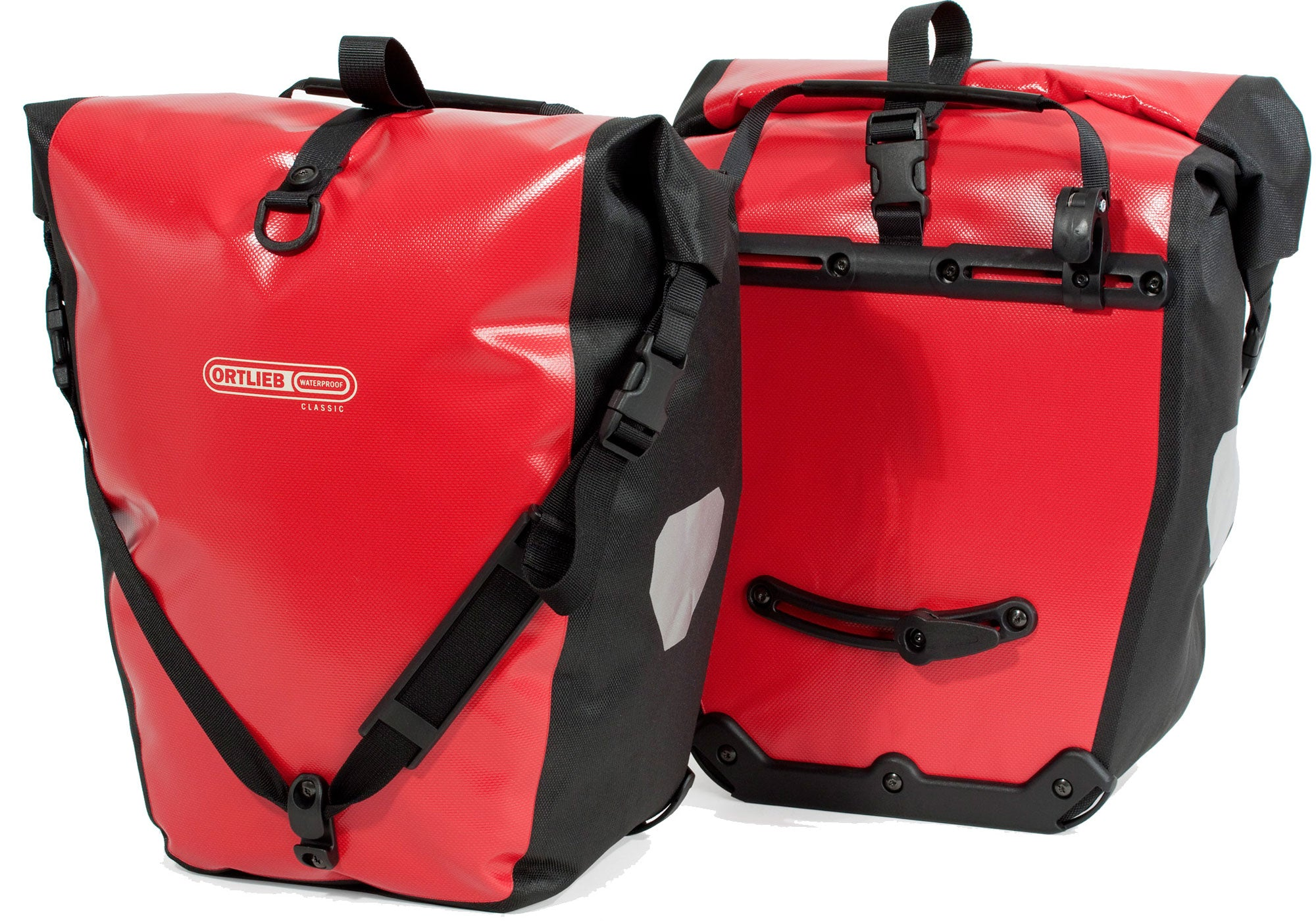 Ortlieb Back-Roller Classic Red/Black Panniers (Rear)