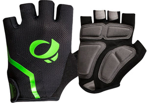 Pearl Izumi Mens Select Cycling Gloves, Black/Screaming Green buy at Woolys Wheels Sydney