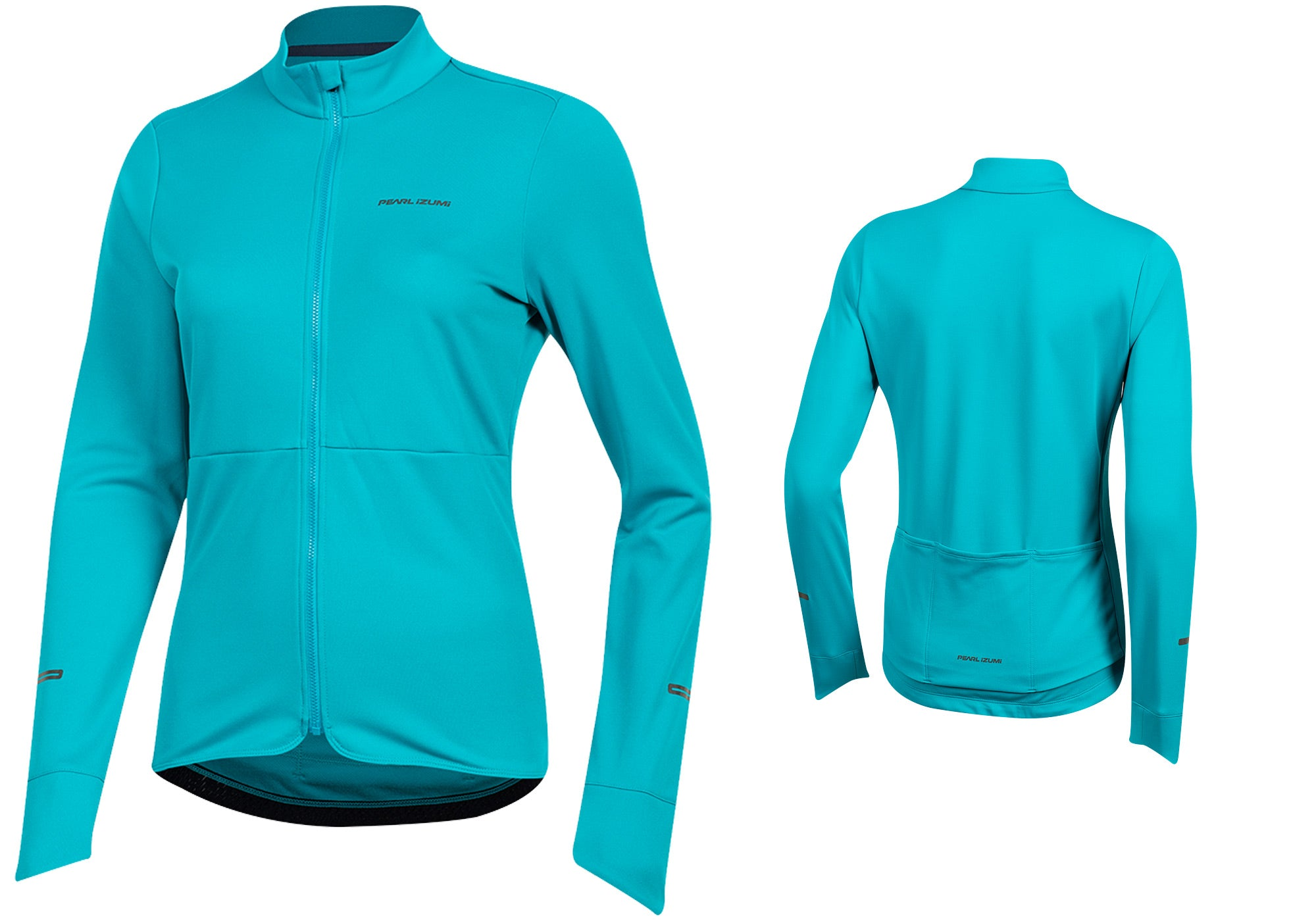 Pearl Izumi Womens Quest Thermal Long Sleeve Cycling Jersey, Breeze