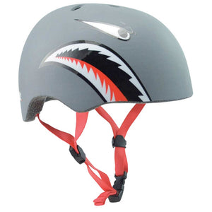 Pit Kids bike and Skate Helmet, Matt Shark, X-Small buy at Woolys Wheels