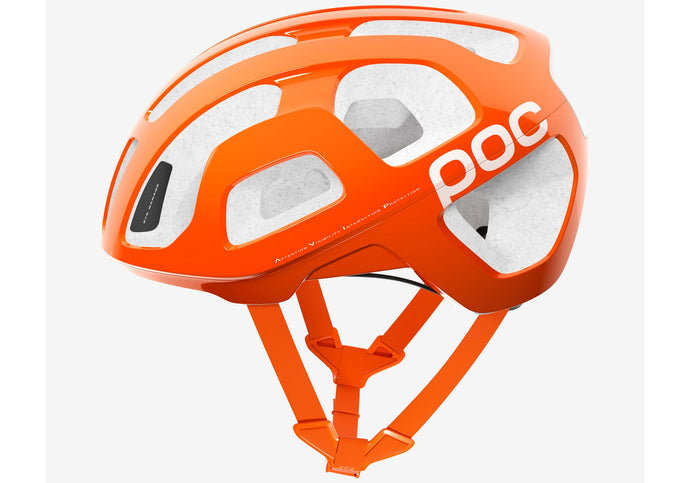 POC Octal Unisex Road Cycling Helmet, Zinc Orange at Woolys Wheels Bicycles Sydney